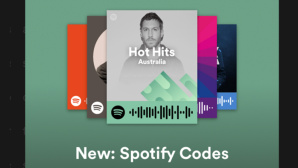 Spotify Code © Screenshot: https://techcrunch.com/2017/05/05/spotify-codes/