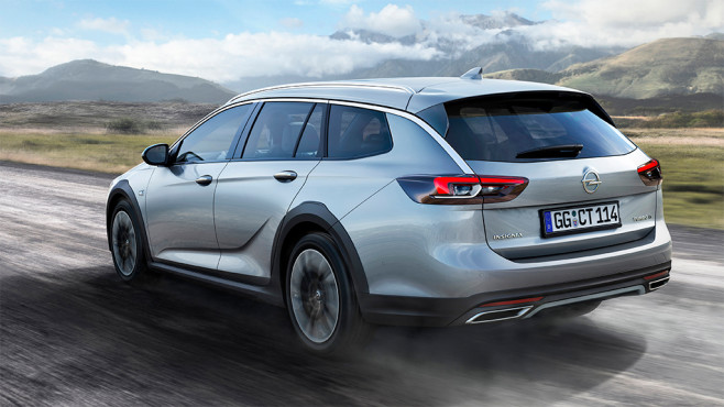 Opel Insignia Country Tourer © Opel