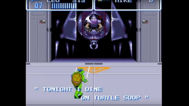 Teenage Mutant Hero Turtles 4 – Turtles in Time © Nintendo