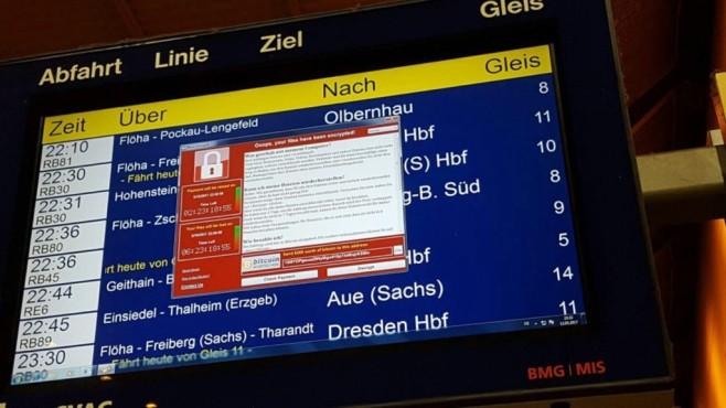 Ransomware-Attacke ©@zeichentaten/Twitter