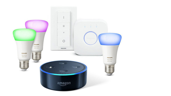 Amazon Echo Dot Philips Hue © Amazon