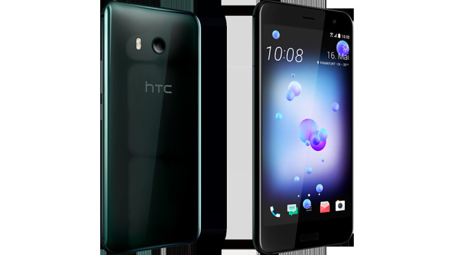 HTC U11: Brilliant Black © COMPUTER BILD