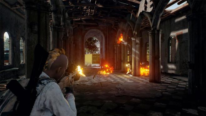 PlayerUnknown's Battlegrounds: Update ©Bluehole