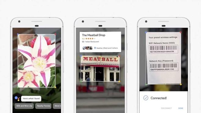 Google Lens: Google macht die Smartphone-Kamera inteligenter Mit Google Lens wird Bilderkennung zum Kinderspiel. Künftig einfach Bild aufnehmen und der Google Assistant liefert passende Informationen. ©Google
