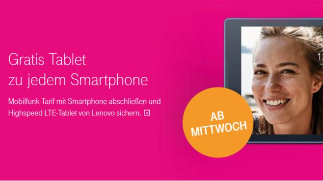 Tablet-Aktion der Deutschen Telekom ©Deutsche Telekom