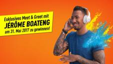 Jérôme Boateng exklusiv in München treffen©JBL, COMPUTER BILD