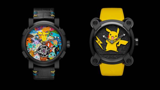 Pokémon Uhr © Romain Jerome
