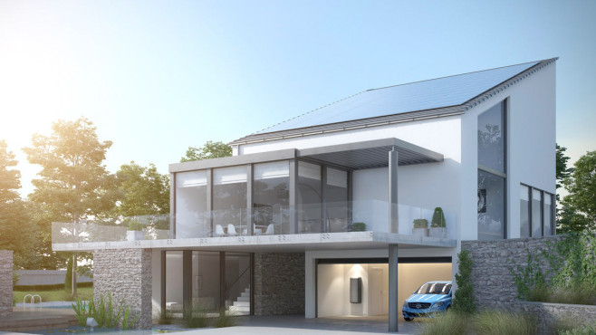 Mercedes-Benz plant Solardächer ©Mercedes-Benz