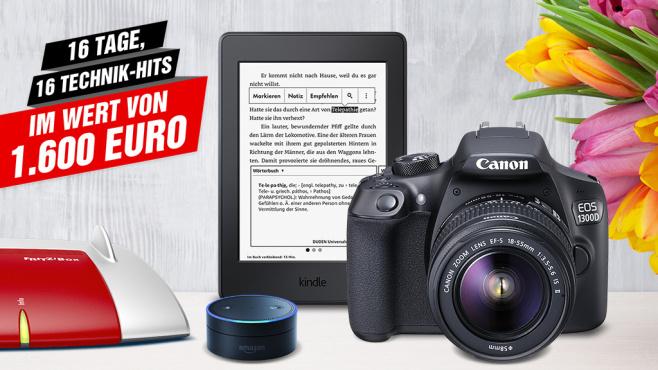 Gewinnspiel: Räumen Sie Preise im Gesamtwert von mehr als 1.600 Euro ©istock.com/karandaev, AVM, Amazon, Canon