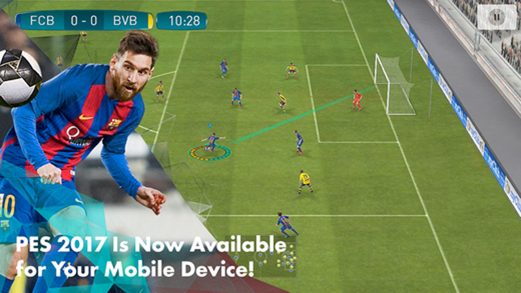 pes 2017 mobile f r ios und android ist da computer bild spiele. Black Bedroom Furniture Sets. Home Design Ideas