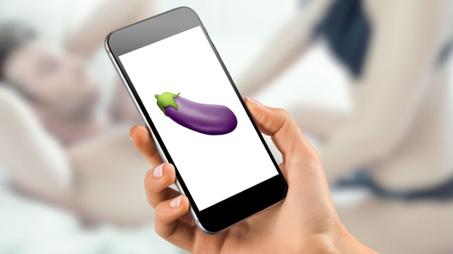 Das Auberginen-Emoji ist auf Instagram ein Sex-Code ©©istock.com/juhy13, Apple, mayatnik - Fotolia.com