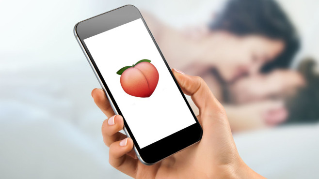 Instagrams Sex-Code Pfirsich ist ein Emoji ©mayatnik - Fotolia.com, Apple, ©istock.com/PeopleImages
