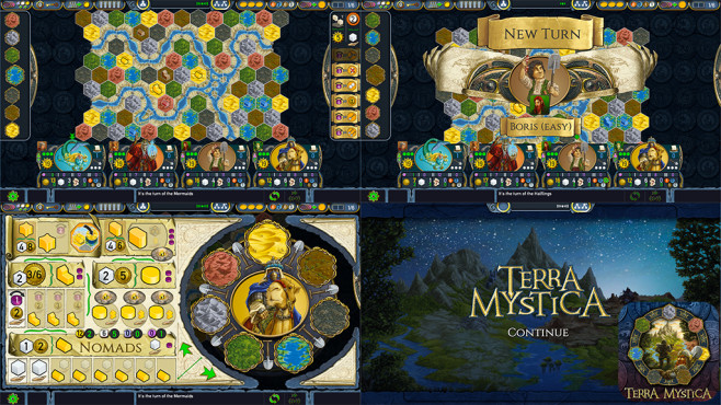 Terra Mystica © Digidiced