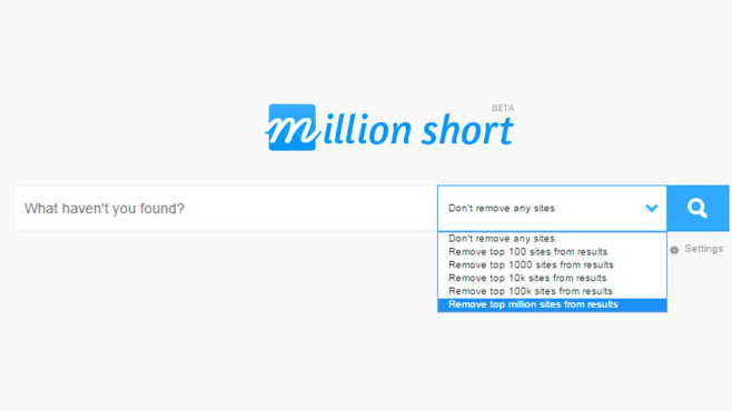 Million Short © COMPUTER BILD