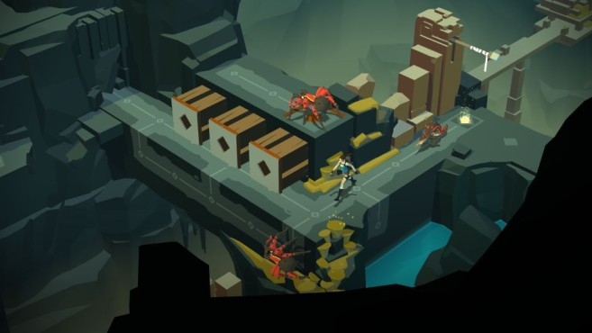 Lara Croft Go © Square Enix