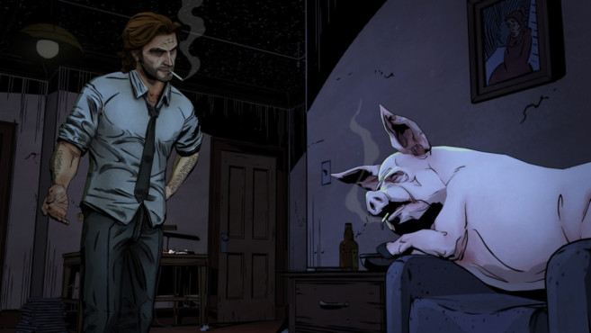The Wolf Among Us © Telltale Games