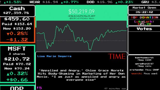 Twitch: StockStream ©Twitch.com