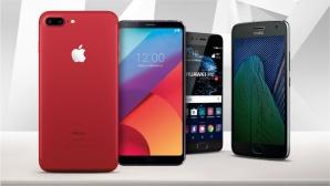 ©Apple, LG, Huawei, Motorola, ©istock.com/eugenesergeev