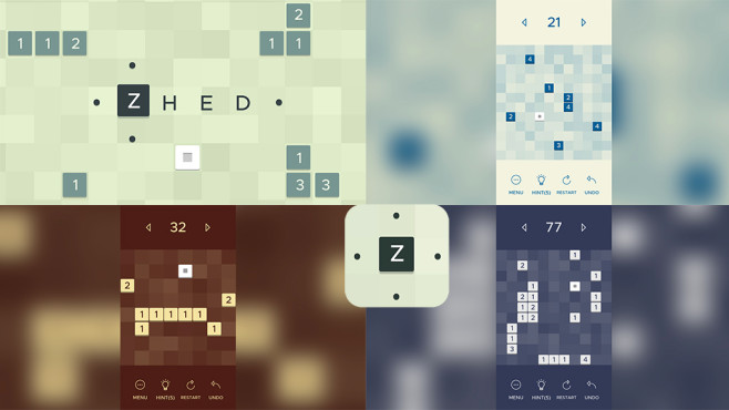ZHED - Puzzle Game © Ground Control Studios