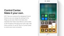 Das neue Control Center © Apple