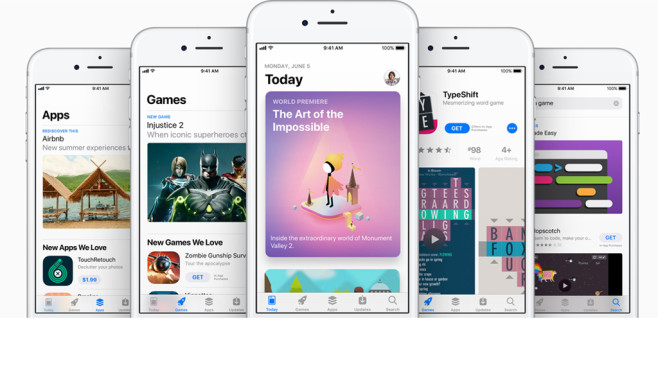Apple: Neuer App Store: © Apple