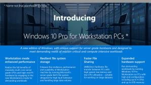 Windows 10 Pro for Workstation PCs ©TheGrandMofongo/Twitter