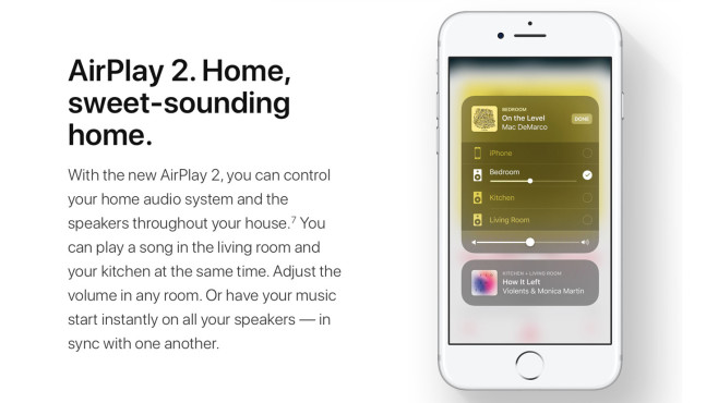 AirPlay 2 © Apple