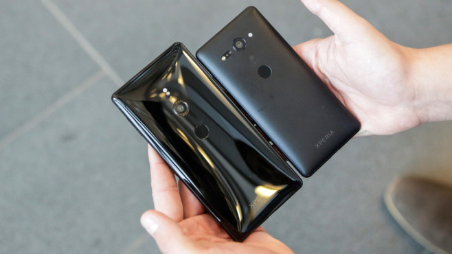 Sony Xperia XZ2 Compact ©COMPUTER BILD