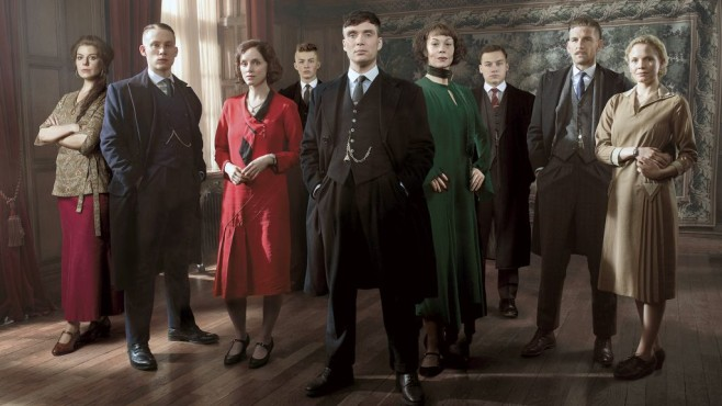 Cast von Peaky Blinders Staffel 3 © Robert Viglaski/Caryn Mandabach Productions Ltd & Tiger Aspect Productions Ltd