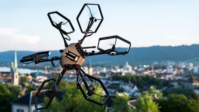 Voliro Drohne ©ethz.ch