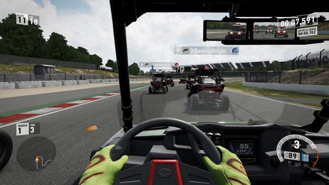 """Forza 7 im Test: Im Rennspiel-Himmel? Buggys bekommen Sie in Rennsport-Titeln sonst eher selten zu Gesicht. Nicht so bei """"Forza 7"""", das mit einem riesigen Fuhrpark protzt. ©Microsoft Studios"""