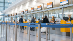 Check-In am Flughafen ©Daniel Berkmann - Fotolia.com