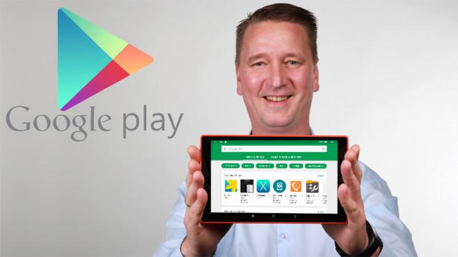 Redakteur Ingolf Leschke mit Fire Tablet ©COMPUTER BILD, Google