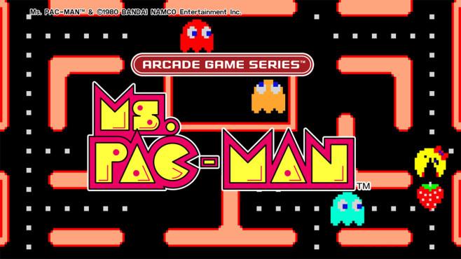 Ms. Pac-Man ©Bandai Namco