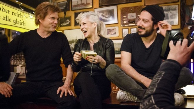 Ina mit Campino und Fahri ©Morris Mac Matzen/NDR