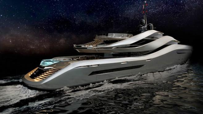 Aurea: Yacht ©Pininfarina