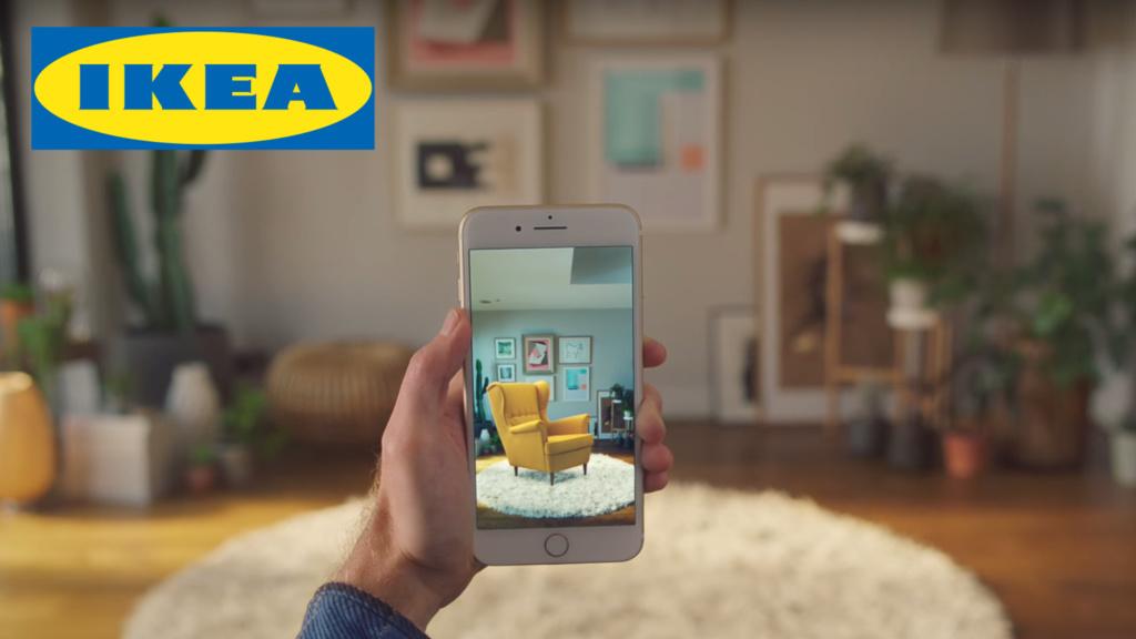 ikea neue ar app computer bild. Black Bedroom Furniture Sets. Home Design Ideas