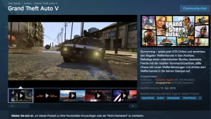 GTA 5: Steam-Reviews © Steam.com / Rockstar Games