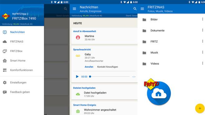 MyFRITZ!App 2 ©AVM GmbH