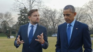 Leo mit Obama © RatPac Documentary Films/ LLC and Greenhour Corporation