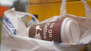 Müllproblem: Coffee-To-Go-Becher ©ZDF/Claus U. Eckert, Süddeutsche TV GmbH