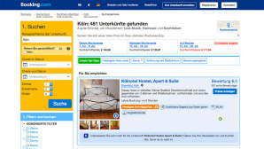 Ärgerlich: Hotelzimmer war leider nur auf dem Foto schön Viele Gäste überzeugt der günstige Preis des Kölnotel Hostel, Apart & Suite. ©Kölnotel Hostel, Apart & Suite, booking.com