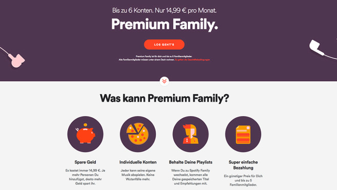 Spotify: Ärger Um Den Familien-Tarif