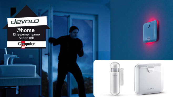 smarthome sicherheit von devolo computer bild. Black Bedroom Furniture Sets. Home Design Ideas