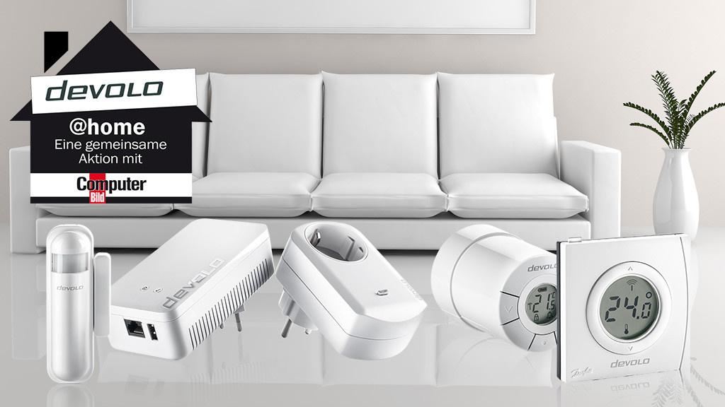 smarthome energiesparen mit devolo computer bild. Black Bedroom Furniture Sets. Home Design Ideas