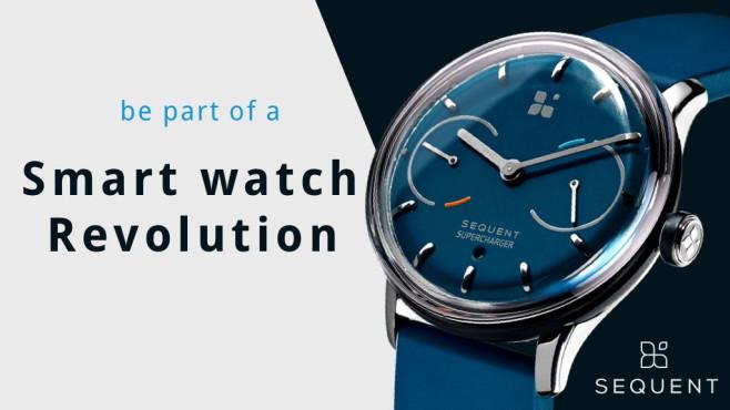 Sequent: Smartwatch ©Sequent / Kickstarter.com