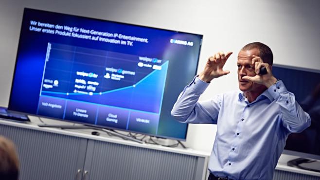 Waipu.TV-CEO Christoph Bellmer zieht erste Bilanz ©Exaring AG
