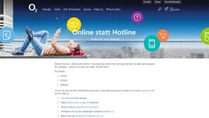 O2: Online statt Hotline ©O2