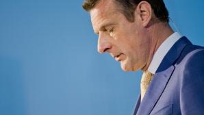 Telekom-CEO Niek Jan van Damme ©dpa-Bildfunk