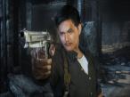 Stranglehold: Chow Yun-Fat stand Pate und Modell f�r die Hauptrolle des Inspektors Tequila in John Woos Spiel-Film.